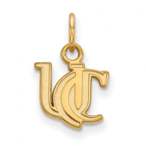 Cincinnati Bearcats Sterling Silver Gold Plated Extra Small Pendant