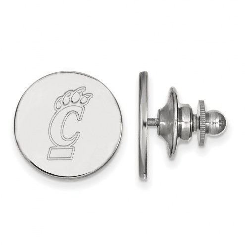 Cincinnati Bearcats Sterling Silver Lapel Pin