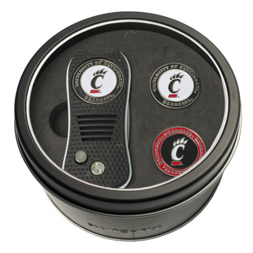 Cincinnati Bearcats Switchfix Golf Divot Tool & Ball Markers