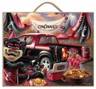 Cincinnati Bearcats Tailgate Plaque