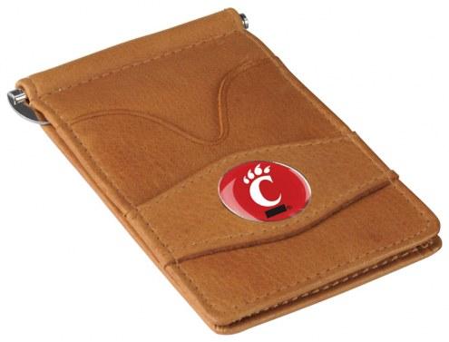 Cincinnati Bearcats Tan Player's Wallet