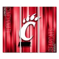 Cincinnati Bearcats Triptych Rush Canvas Wall Art