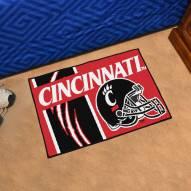 Cincinnati Bearcats Uniform Inspired Starter Rug