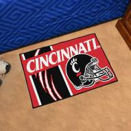 Cincinnati Bearcats Uniform Inspired Starter Rug