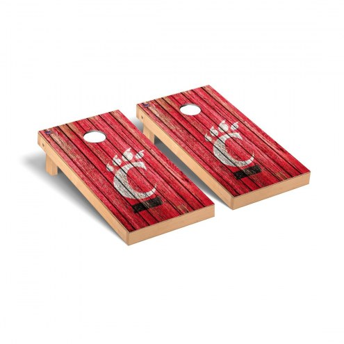 Cincinnati Bearcats Weathered Cornhole Game Set