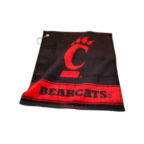Cincinnati Bearcats Woven Golf Towel