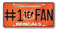Cincinnati Bengals #1 Fan License Plate