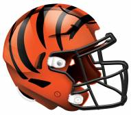 "Cincinnati Bengals 12"" Helmet Sign"