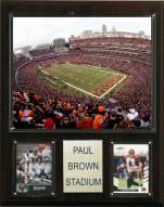 """Cincinnati Bengals 12"""" x 15"""" Stadium Plaque"""