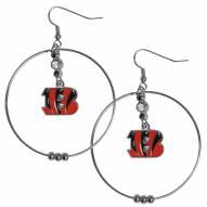 """Cincinnati Bengals 2"""" Hoop Earrings"""