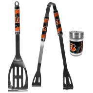 Cincinnati Bengals 2 Piece BBQ Set with Season Shaker