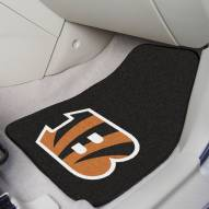 Cincinnati Bengals 2-Piece Carpet Car Mats