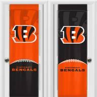 Cincinnati Bengals 2 Sided Door Wrap