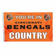 Cincinnati Bengals 3' x 5' Country Flag