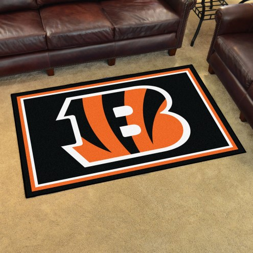 Cincinnati Bengals 4' x 6' Area Rug
