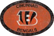 "Cincinnati Bengals 46"" Team Color Oval Sign"