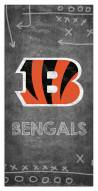 "Cincinnati Bengals 6"" x 12"" Chalk Playbook Sign"