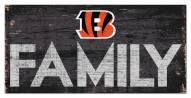 "Cincinnati Bengals 6"" x 12"" Family Sign"