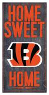 "Cincinnati Bengals 6"" x 12"" Home Sweet Home Sign"
