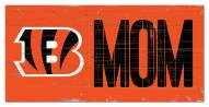 "Cincinnati Bengals 6"" x 12"" Mom Sign"