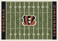 Cincinnati Bengals 6' x 8' NFL Home Field Area Rug