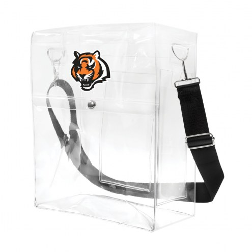 Cincinnati Bengals Clear Ticket Satchel