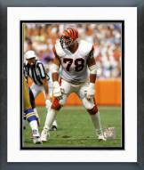 Cincinnati Bengals Anthony Munoz 1989 Action Framed Photo