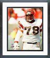 Cincinnati Bengals Anthony Munoz Action Framed Photo