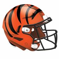 Cincinnati Bengals Authentic Helmet Cutout Sign