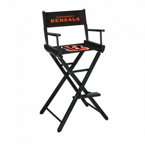 Cincinnati Bengals Bar Height Director's Chair