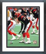 Cincinnati Bengals Barney Bussey Action Framed Photo