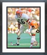 Cincinnati Bengals Bill Bergey 1970 Action Framed Photo