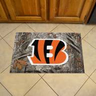 Cincinnati Bengals Camo Scraper Door Mat