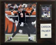 "Cincinnati Bengals Carson Palmer 12 x 15"" Player Plaque"
