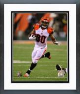 Cincinnati Bengals Cedric Peerman Action Framed Photo