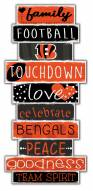 Cincinnati Bengals Celebrations Stack Sign