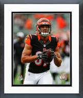 Cincinnati Bengals C.J. Uzomah Action Framed Photo