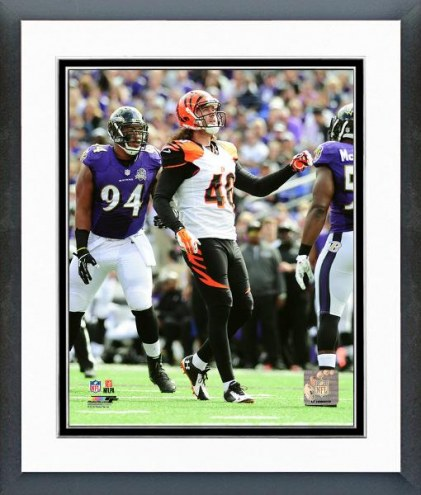 Cincinnati Bengals Clark Harris Action Framed Photo