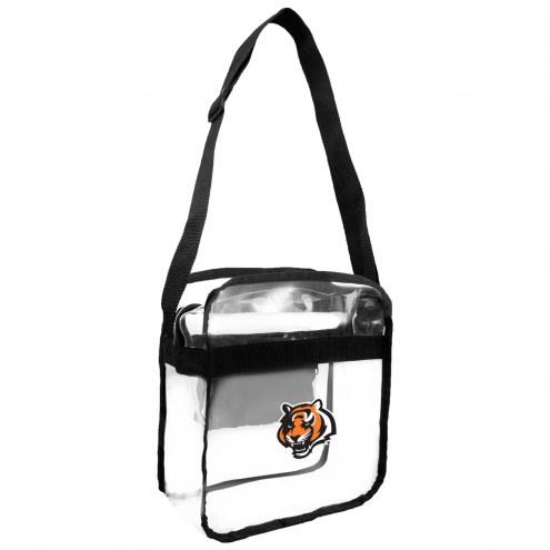 Cincinnati Bengals Clear Crossbody Carry-All Bag
