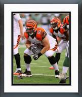 Cincinnati Bengals Clint Boling Action Framed Photo