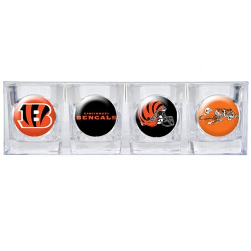 Cincinnati Bengals Collector's Shot Glass Set
