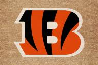Cincinnati Bengals Colored Logo Door Mat