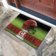 Cincinnati Bengals Crumb Rubber Door Mat