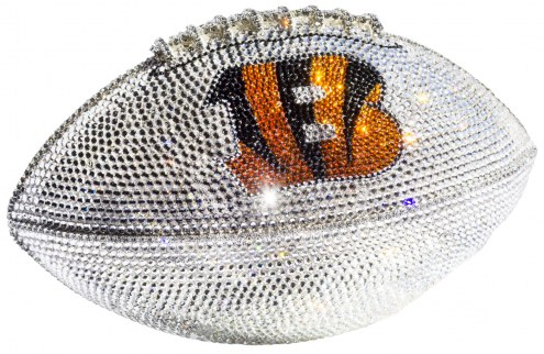 Cincinnati Bengals Swarovski Crystal Football