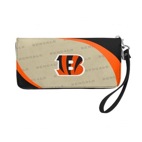Cincinnati Bengals Curve Zip Organizer Wallet