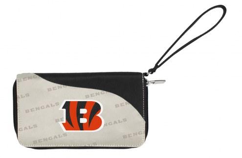 Cincinnati Bengals Curve Zip Wallet