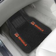 Cincinnati Bengals Deluxe Car Floor Mat Set