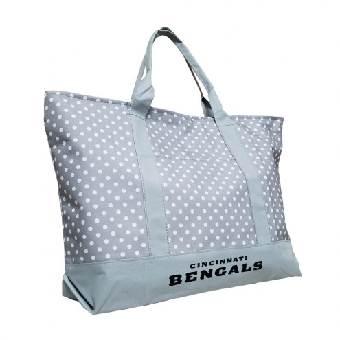 Cincinnati Bengals Dot Tote Bag