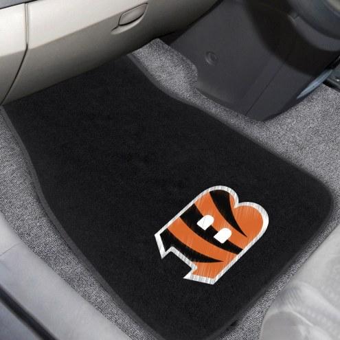 Cincinnati Bengals Embroidered Car Mats