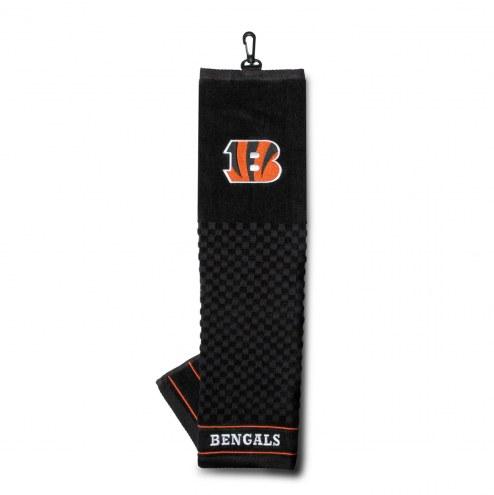 Cincinnati Bengals Embroidered Golf Towel